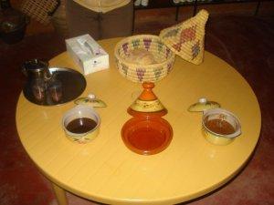 Dégustation de l'huile d'Argan sur une tartine